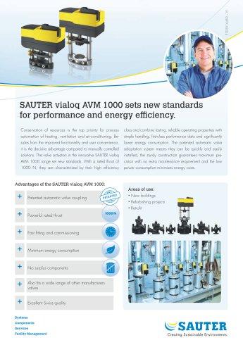 SAUTER vialoq AVM 100