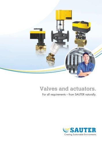Valves and actuators.