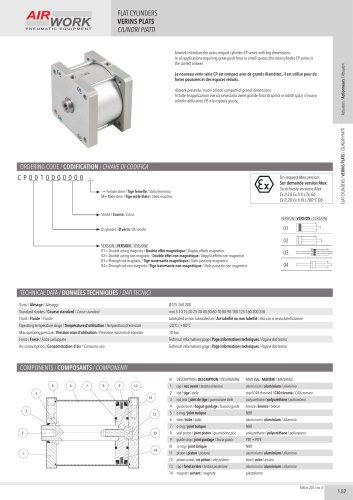 CP FLAT CYLINDERS