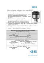 RH505 Wireless Vibration and Temperature Sensor