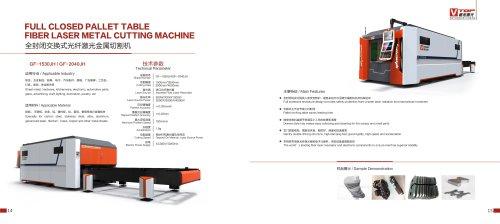 2000w 3000w 4000w Fiber Laser Metal Sheet Cutting Machine GF-1530JH