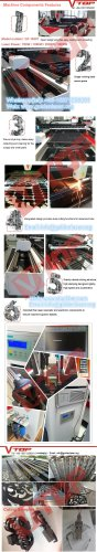 Cnc Fiber Laser Metal Sheet And Pipe Cutting Machine GF-1530T Components Features
