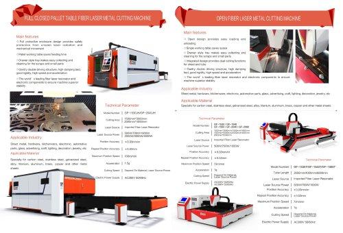 Fiber Laser Metal Tube And Sheet Cutting Machine