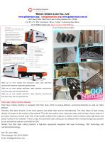 Full Closed Pallet Table Fiber Laser Cutting Machine For SS / CS / MS / Aluminum GF-1530JH