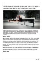 Golden Laser 1000w 2000w 2500w 3000w Cnc Fiber Laser Pipe Cutting Machine P3060