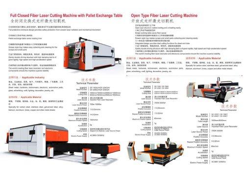 Golden Laser 2000W fiber laser cutting machine price
