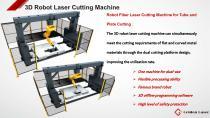 Golden Laser 3D laser cutting machine Mi20a for sheet matal and tubes