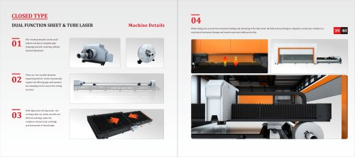 Golden Laser Dual-uses Metal Cutting Machine for Sheet Metal and Tube