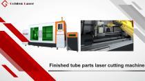 Golden Laser Finished tube parts laser cutting machine T2000