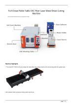 Golden Laser Full Closed Pallet Table CNC Fiber Laser Metal Sheet Cutting Machine GF-1530JH GF-2040JH GF-2560JH