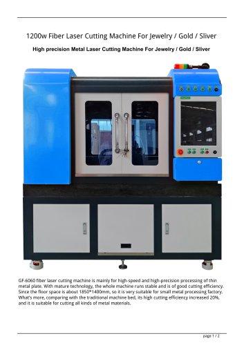Golden Laser High precision Metal Laser Cutting Machine GF-6060 For Jewelry / Gold / Sliver
