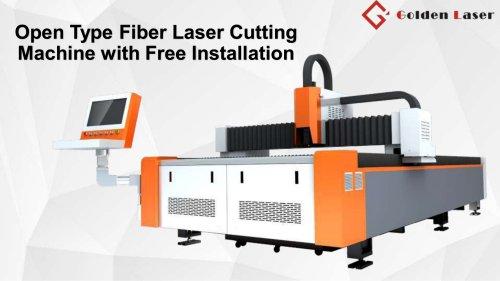 Golden Laser Installation-free Fiber Laser Cutting Machine GF-1530/1540/1560