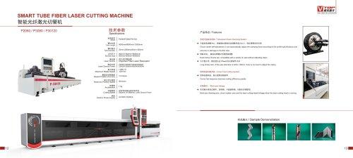 Golden Laser New Model Semi Automatic Fiber Laser Tube Cutting Machine P2060 P3080 P30120