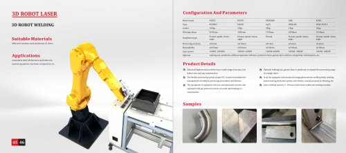 Golden Laser Robot Laser Cutting Machine Series for Automotive Industry