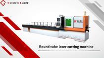 Golden Laser Round tube cutting machine P120