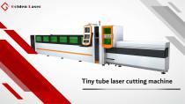 Golden Laser Tiny tube laser cutting machine P1260A for small diameter tube processing