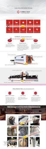 Golden Vtop Fiber Laser Metal Sheet And Tube Cutting Machine Highlights