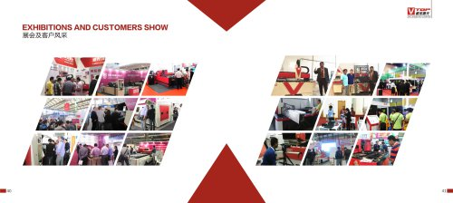 Golden Vtop Laser Exhibitions And Customer Show