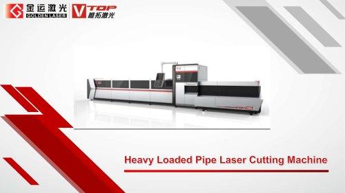 GoldenLaser Heavy loader tube cutting machine P40120