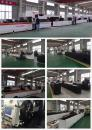 Mass Production Of Metal Pipe Laser Cutter P2060A in Golden Vtop's Workshop