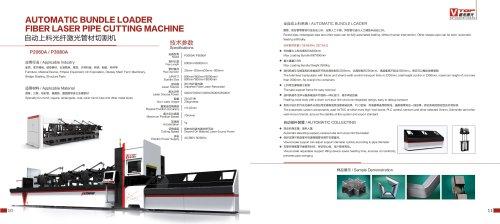 Round / Square / Oval / Waist Round Tube Fiber Laser Cutting Machine P2060A