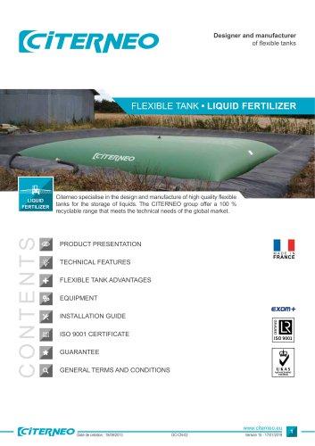 Technical documentation - Liquid fertilizer