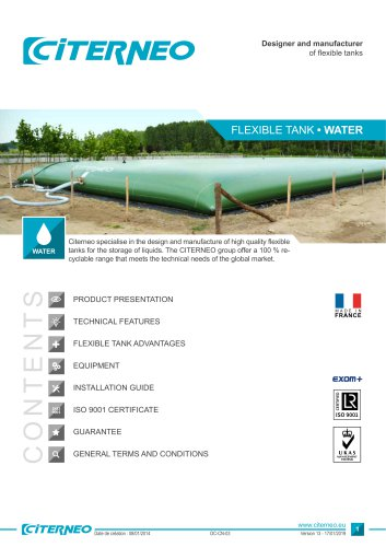 Technical documentation - Water