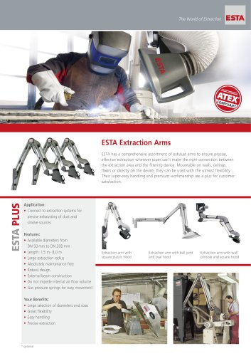 Brochure Extraction Arms