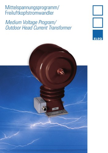 Outdoor head current transformer