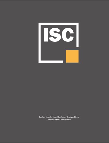 General catalogue ISC