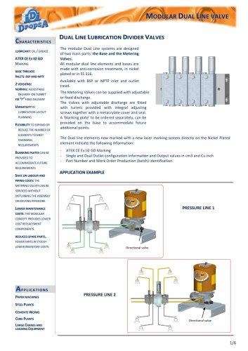 Dividers- DM-Modular valve