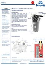 A MODULAR COMPACT AIR/OIL FOR WITH PNEUMATIC CONTROL