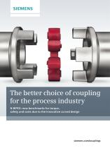 A better choice of coupling for the process industry