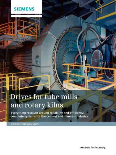 Drives for Tube Mills and Rotary Kilns