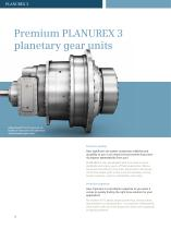 Planurex 3 - Premium gearunits for use at the highest torque - 3