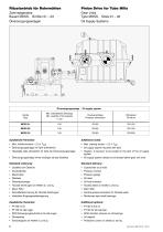 Single Pinion Drive for Tube Mills - 12