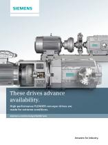 These drives advance availability. - 1