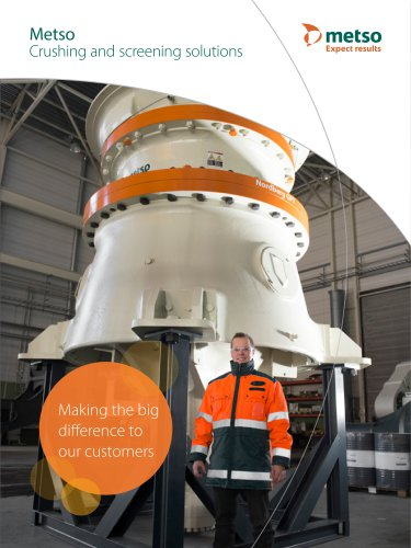 Crushing and screening solutions - Metso Automation - PDF