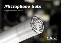 G.R.A.S. 46AE 1/2'' CCP Free-field Standard Microphone Set - 1