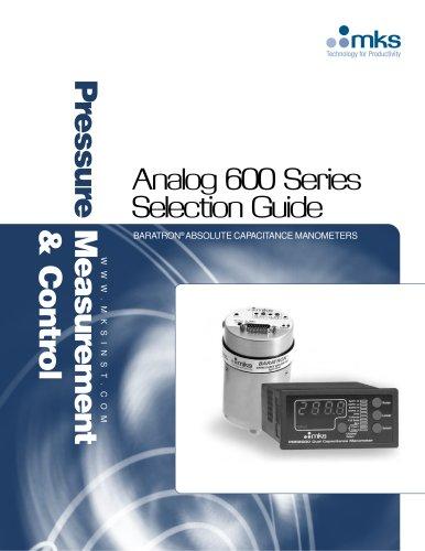 Analog 600 Series Selection Guide
