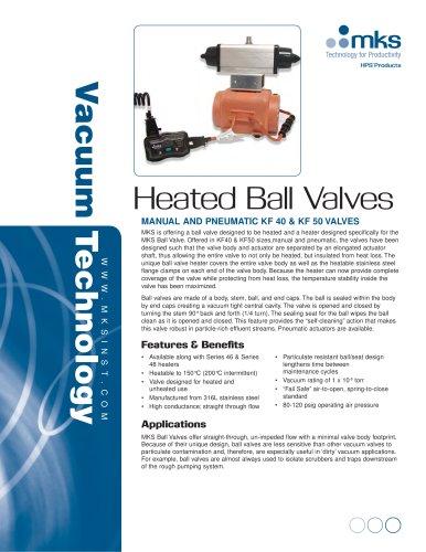 Heated Ball Valves