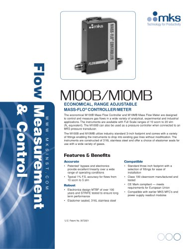 M100 - MKS Instruments - PDF Catalogs | Technical