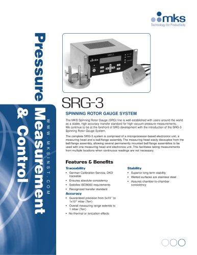 SRG-3 Spinning Rotor Vacuum Gauge System