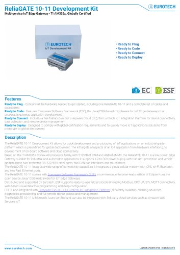 ReliaGATE 10-11 Development Kit