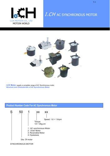 I.CH- AC Re-syn Motor