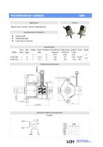 Permanent Stepper Motor Gearbox 15mm - 1