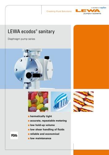 LEWA ecodos sanitary
