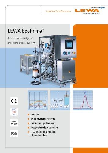 LEWA EcoPrime - The custom-designed chromatography system