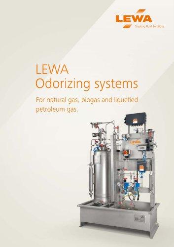 LEWA  Odorizing systems