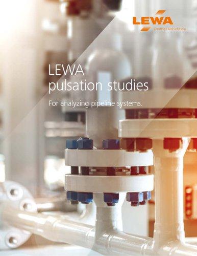 LEWA pulsation studies